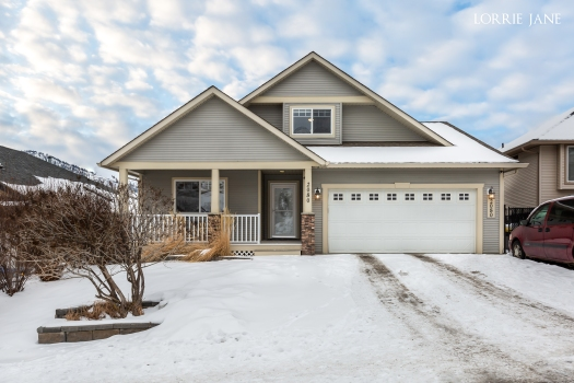 Juniper Ridge Beauty with stunning views ... and you have to check out the master bedroom and bath!!