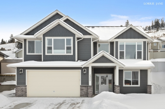 Beautiful new listing in Aberdeen, Kamloops, BC about to hit the market ... gorgeous views from this Dunbar Street home.