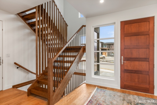 Check out this custom designed staircase by 7 Points Millworks.  Tobiano living ...  #carpentry#woodworking #shop #modern #wood #finish #carpentry #house #home #steps #stair #oneofakind #customcabinets#customwoodwork #design #homedesign #realestate  #picoftheday #photooftheday #instadaily #instalike #interiorphotography #luxury #luxuryhomes #firstimpression #kamloopsphotographer @dailyviewkamloops #kamloopsviews #chbabc  #canadianhomebuildersassociation #canadianhomebuilders #architecturalmillwork #architecturalwoodwork