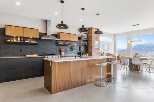 Beautiful designer kitchen in Sun Rivers, Kamloops, BC.